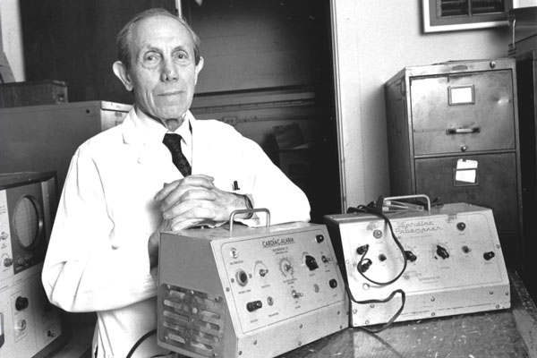 1952 Heart Pacemaker Implanted