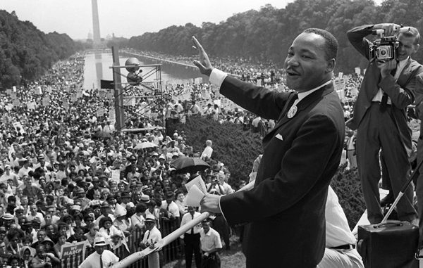 Martin Luther King Jr March on Washington 1963