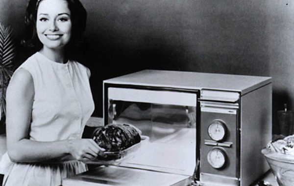 The First Microwave Oven
