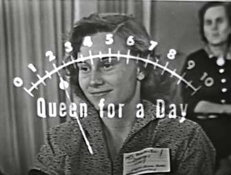 Queen for a Day applause meter
