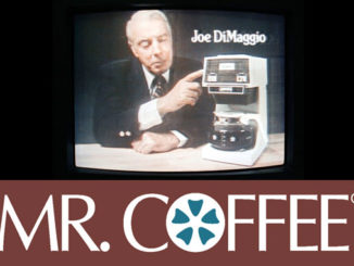 Mr. Coffee with Joe DiMaggio