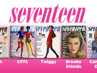 Seventeen magazine covers since 1944